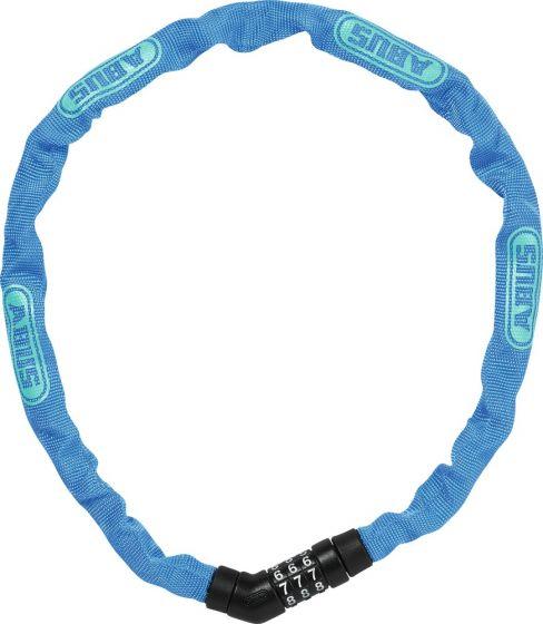 Steel-O-Chain Cykellås Med Kode, Blå