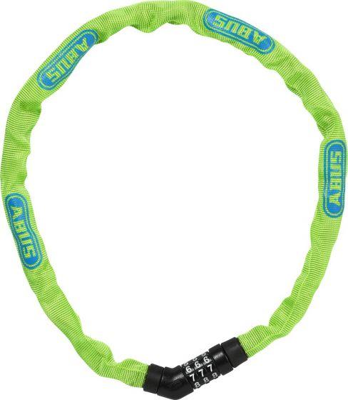 Steel-O-Chain Cykellås Med Kode, Lime