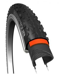 29x2,10 Cykeldæk NoPssss Sort, 5mm