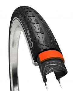 700x25C Cykeldæk NoPssss Sort, 5mm