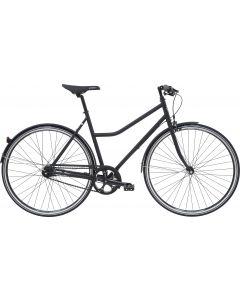 Black Winther Steel 1 Damecykel 7 gear 52cm