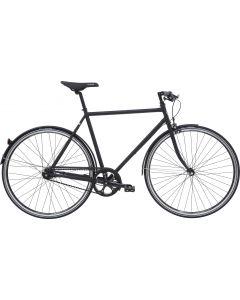 Black Winther Steel 3 Herrecykel 7 gear 60cm