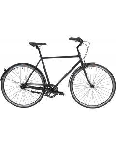 Black Winther Steel 5 Herrecykel 7 gear 60cm