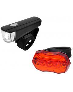 Lygtesæt Med LED og Batterier