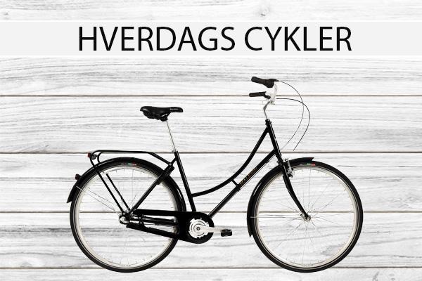HVERDAGS CYKLER VANLØSECYKELCENTER